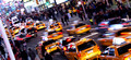 Times Square Taxi Tumult